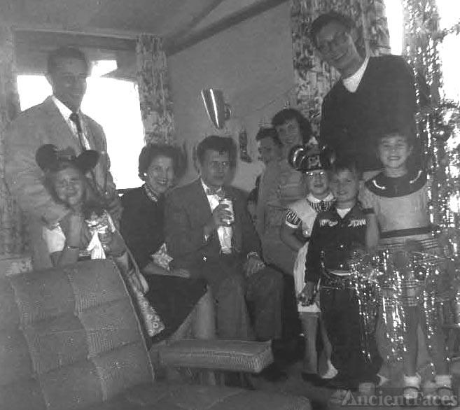 Kroetch and Barrett Family, 1956