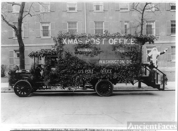 The Christmas post office