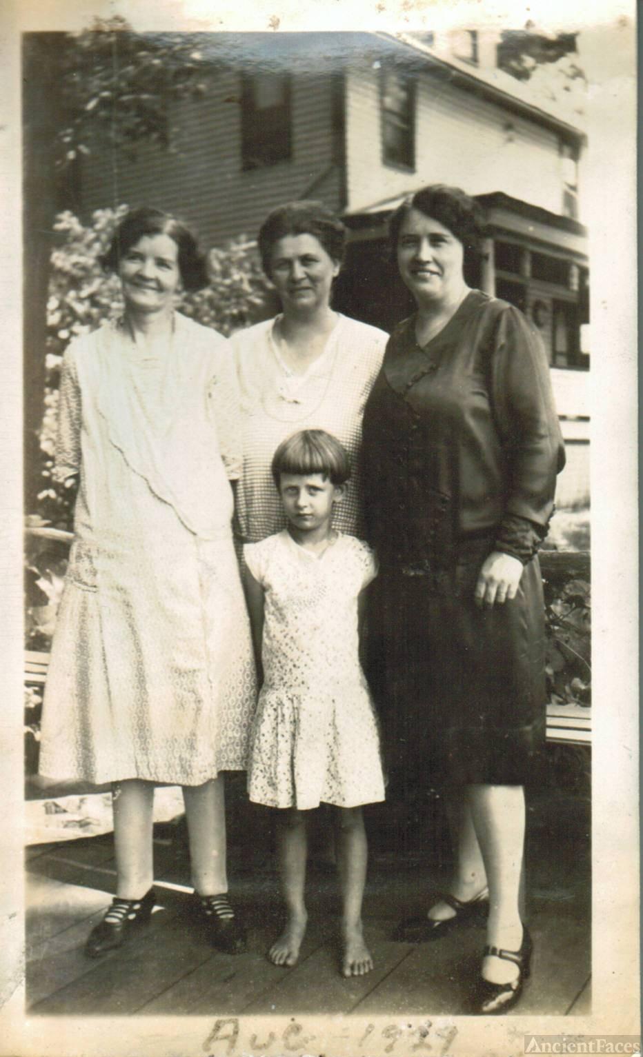 Rachel Moreland & Bessie Lawhead, Pennsylvania