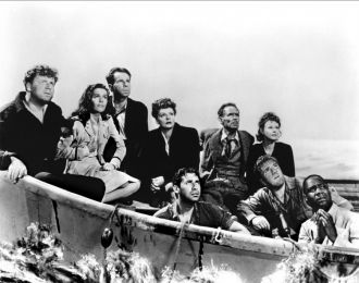 Tallulah Bankhead and cast