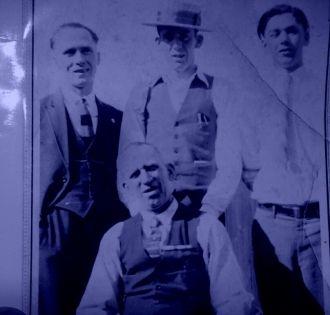 Brinley, John, Ivor & Thomas Rees