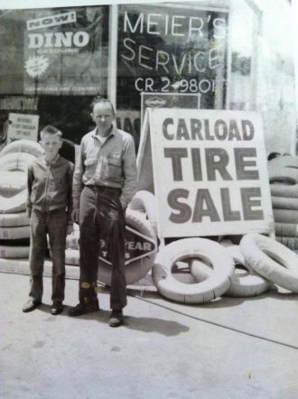 Glenn & Clarence Meier
