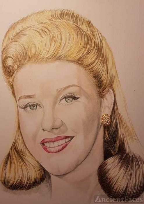 Portrait by Claudia Subirats - a fan.