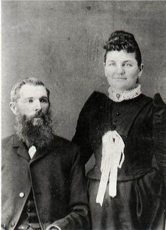 Eugene Henry Sage and Martha Jane Wells