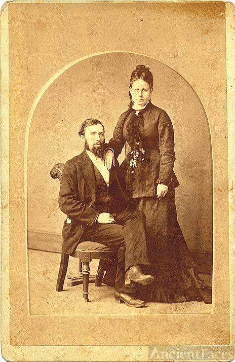 Parthenia Passano Baine and Charlie Carlisle