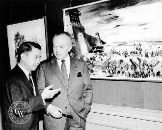 Dong Kingman and Samuel Bronston