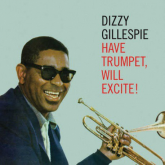 A photo of Dizzy Gillespie
