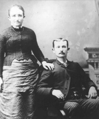 Charles O & Alice Barnett wedding
