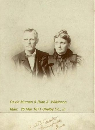 David Murnan & Ruth Wilkinson