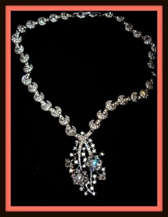 Marianne Campbell's wedding necklace.