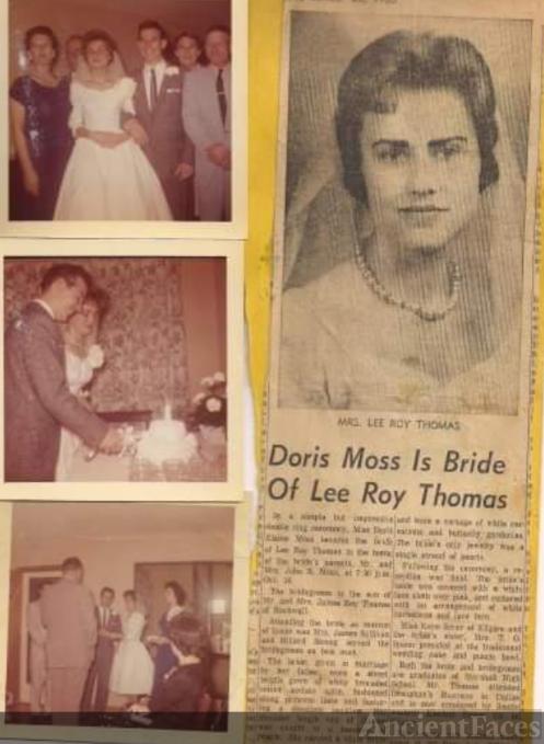 The Wedding of Doris and Lee Roy Thomas