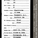 Alma Erskine McLellan-Murphy-Connell --New Hampshire, U.S., Marriage and Divorce Records, 1659-1947(21apr1925) front
