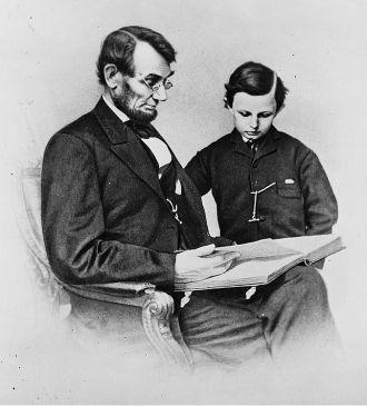 Abraham Lincoln & Tad Lincoln