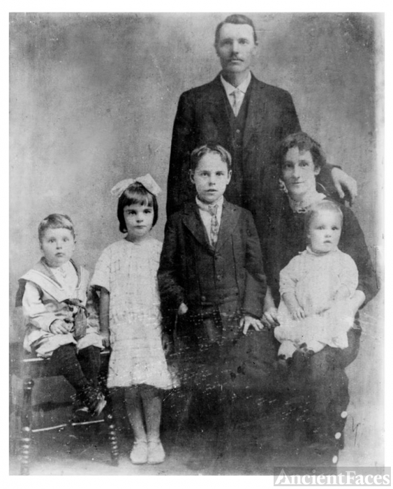 Mary Elizabeth (Kavanagh) Hickey family