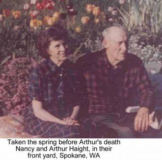 Nancy and Arthur Haight
