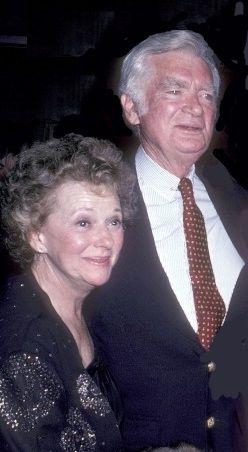 Jan Clayton and Buddy Ebsen.