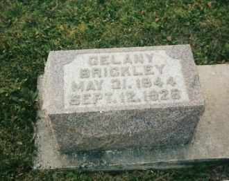 Gelana Milligan gravestone