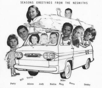 Nesmith Christmas card