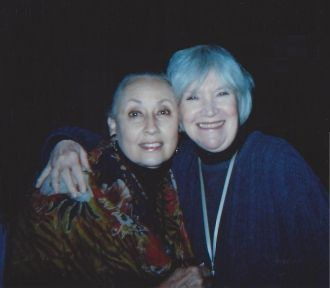 Jean Preece-Doswell with Molly Molloy