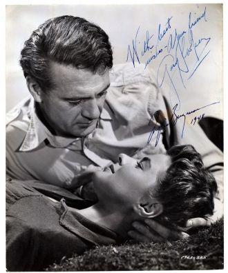 Gary Cooper and Ingrid Bergman