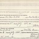 Thomas Abraham Steed Marriage