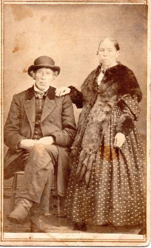 Eli and Ann (Fulton) Gillaspie Niles