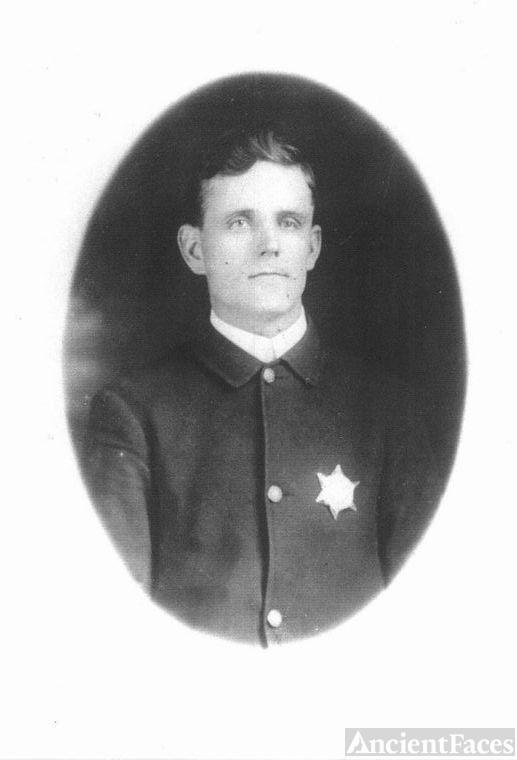William Vernon Dudley in Uniform
