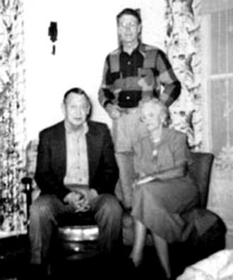 W.E. Ramage, Eale Scholl, Justina (Wolf) Ramage