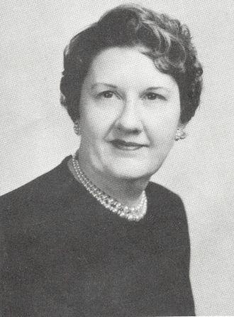 Mrs. Charles Milby, Kentucky, 1955