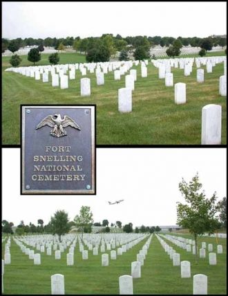 Curtis F Oman, Fort Snelling Cemetery
