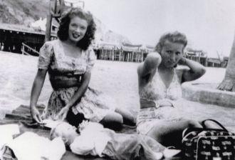 Marilyn Monroe, Beach
