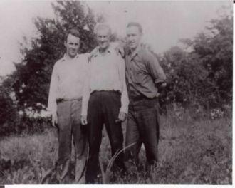 Calvin, Charles, & James Bissett