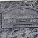 Marion (Wonch) Winter's grave marker