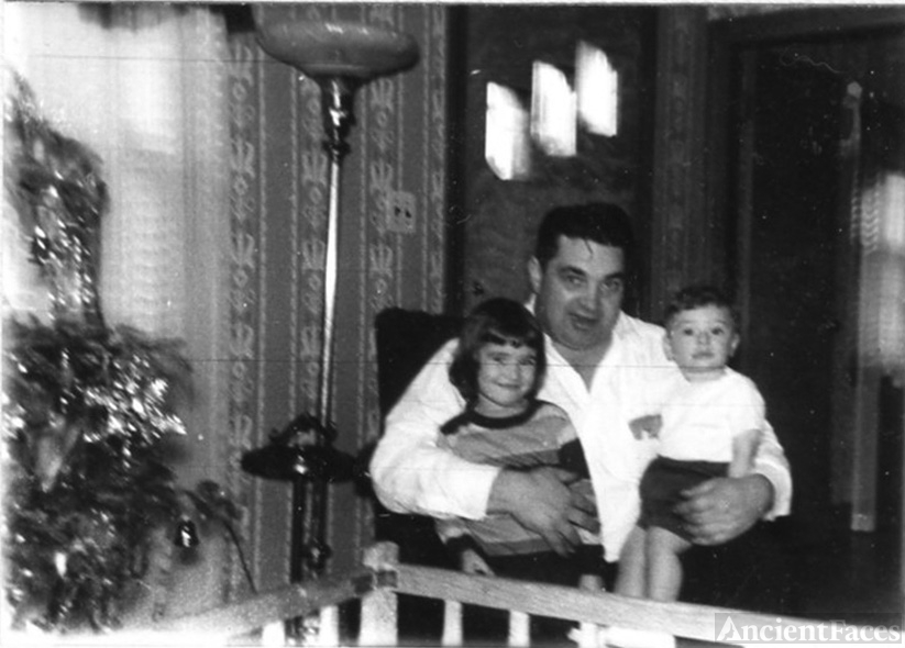 Dad with Barbara and Robert