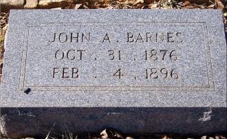 A photo of John A. Barnes