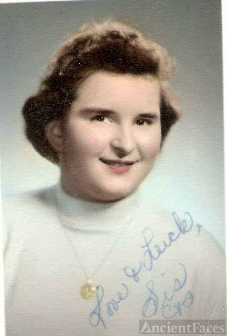 Carol Lee Shaben-Wentz--U.S., School Yearbooks, 1900-1999(1958)