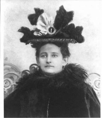 A photo of Julia Ann (Matthews) Swanson