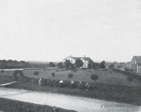 Schmidt Homestead 1907 Michigan