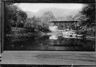 Photocopy of postcard, VT