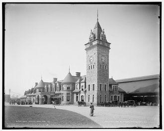 Union Station, Portland, Me.