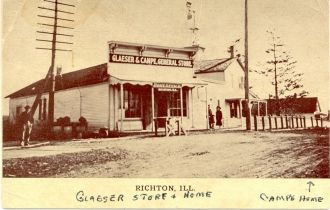 Glaeser & Campe Store, Illinois 1909