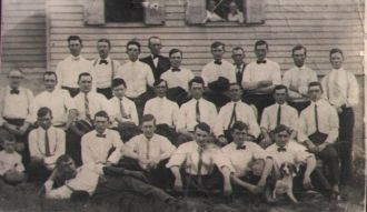 Cornelius Boyle, James O'hara & friends, Pennsylvania 1930