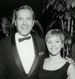 Hurd Hatfield and Amanda Stevenson