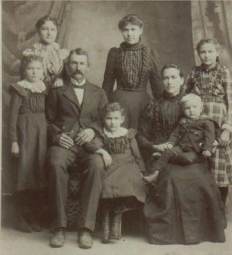 Jacob & Almeda (Binkley) Ridenour Family