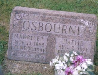Maurice and Hattie Osborne
