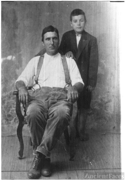 William Edward Foster and son