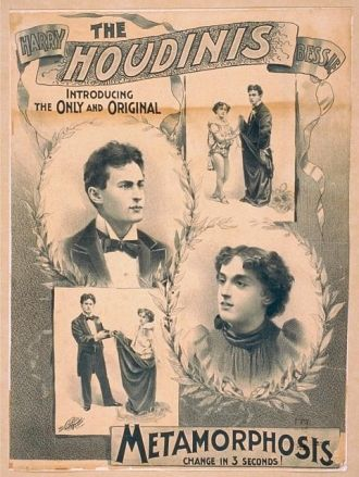The Houdinis - poster
