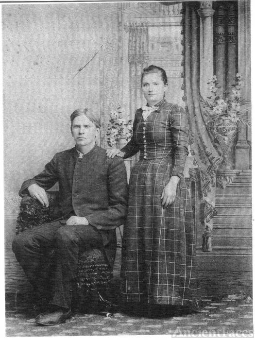Texas & Irene (McNeely) Claytor, Illinois 1894