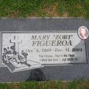 Mary Z Figueroa gravesite