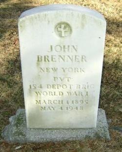 John Brenner gravesite